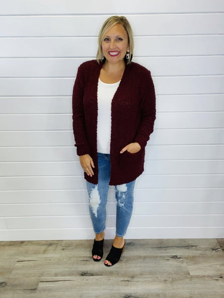 DOORBUSTER Get Your Popcorn Cardi- 7 Colors!