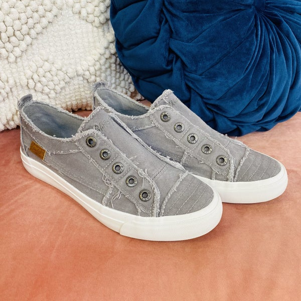 Blowfish Grey All Day Slip On Sneakers