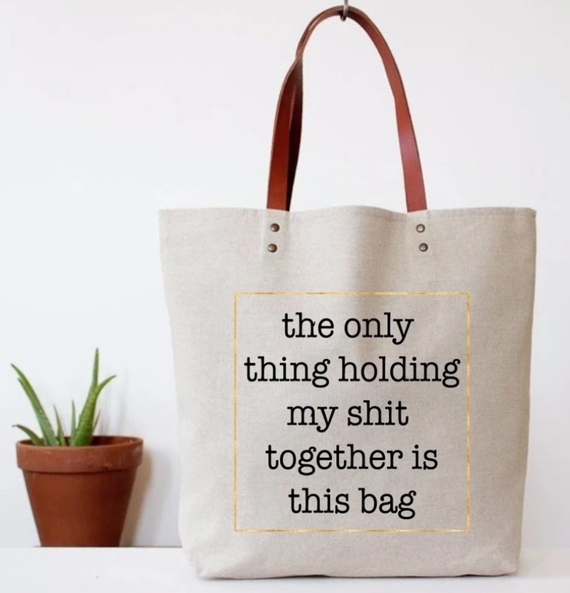 Snarky Canvas Tote Bags