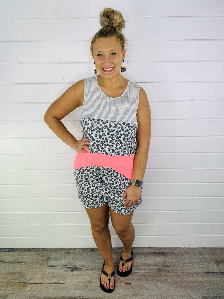 PLUS/REG Lovely In Leopard Shorts