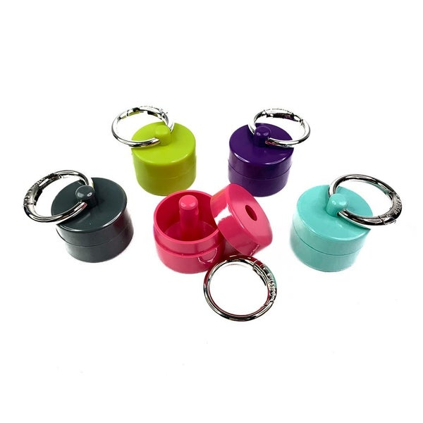Keychain Unique Jewelry Holder- Patten Pending- Multiple Colors!