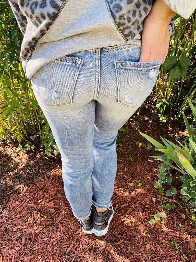KanCan Got It From My Momma High Rise Jeans