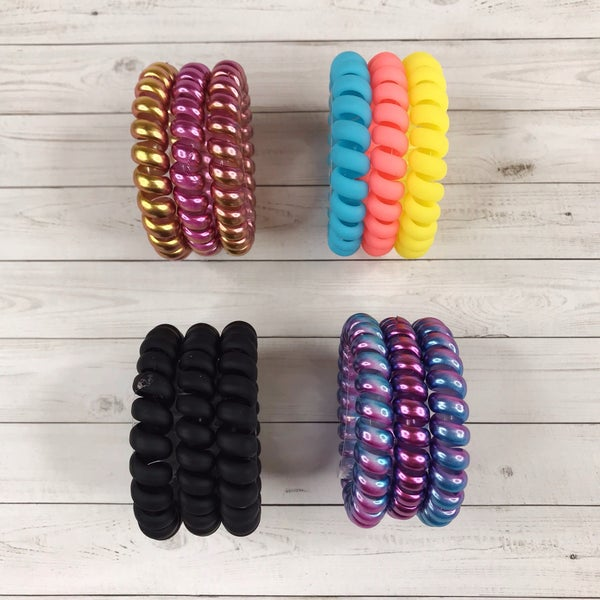 Three Pack Medium Hair Ties