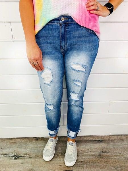 Plus/Reg Kan Can High School Hottie Skinny Jeans