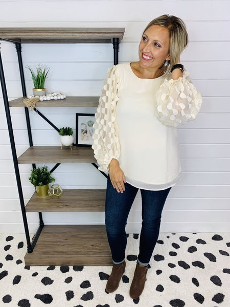 Working In Style Top- 2 Colors!