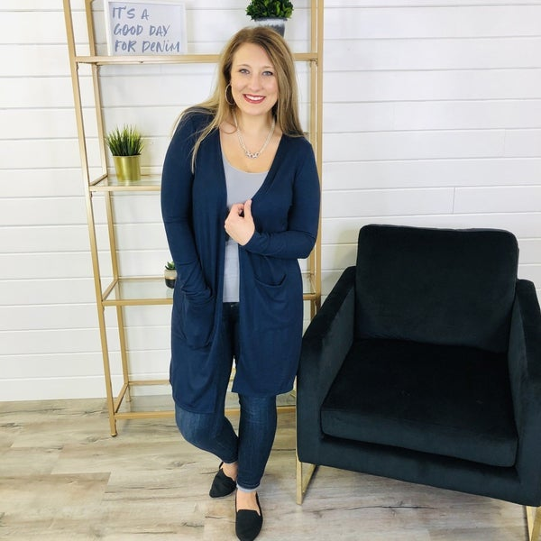 DOORBUSTER! PLUS/REG All About It Cardi- 4 Colors!
