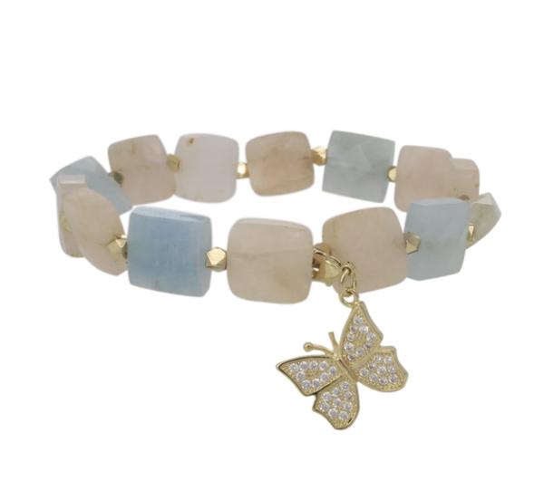Erimish Stone Butterfly Bracelet