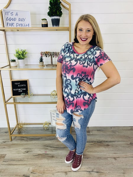 PLUS/REG Just Be You Top