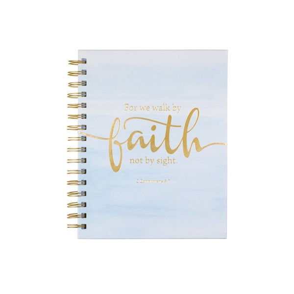 For We Walk By Faith Not By Sight Prayer Journal