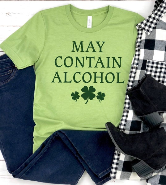PREORDER Plus/Reg May Contain Alcohol Tee