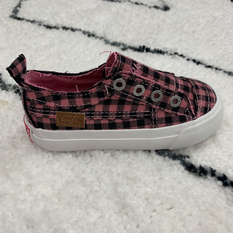 Blowfish Kids Check Out My Pink Slip On Sneakers