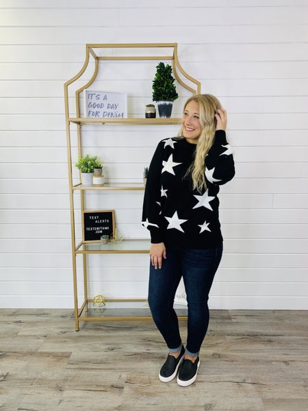 DOORBUSTER Stop And See The Stars Sweater