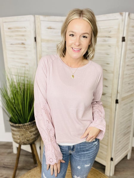 Blissful Heart Top- 3 COLORS!