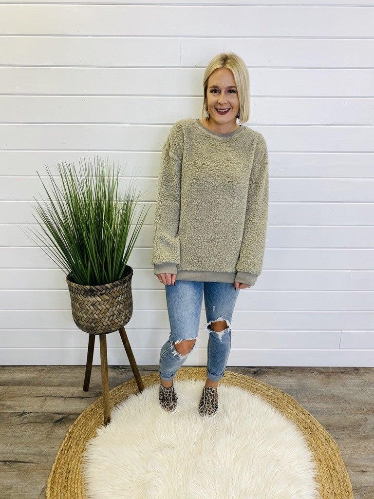 PLUS/REG Sweeter Love Sweater- 2 Colors!