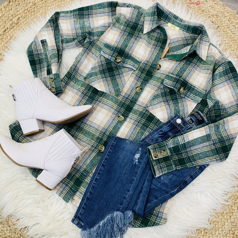 PLUS/REG Chilly Nights Ahead Flannel