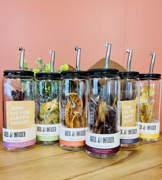 ALCOHOL INFUSION KIT-6 FLAVORS!