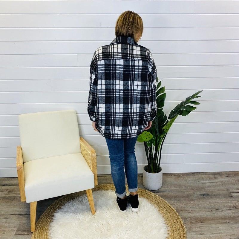 PLUS/REG Rain Check Please Flannel- 2 Colors!