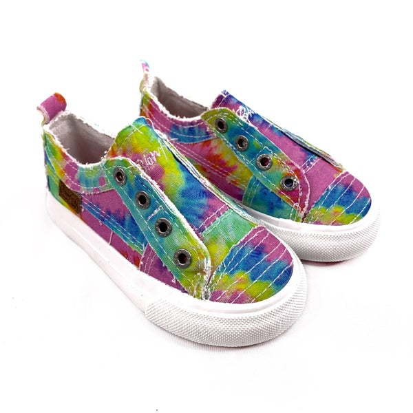 Blowfish Kids Pastel Tie Dye Slip On Sneakers