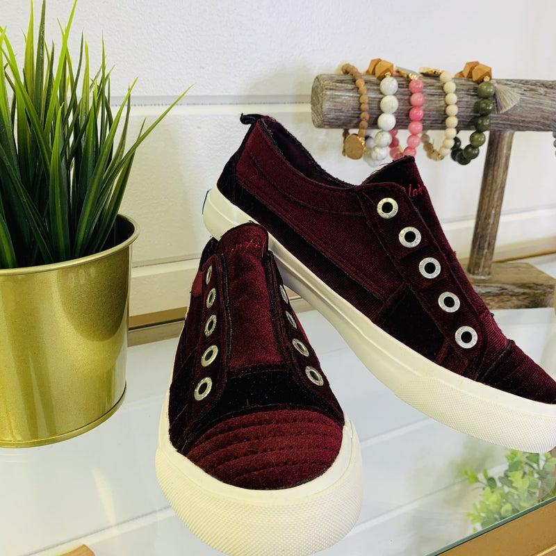 Melt My Heart Velvet Sneakers