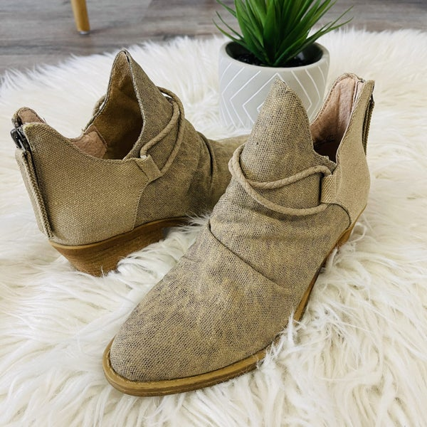 Very G A Sure Thing Booties- 2 Colors!