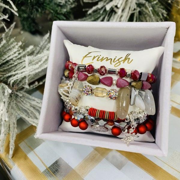 Erimish Winter Stack Bracelet