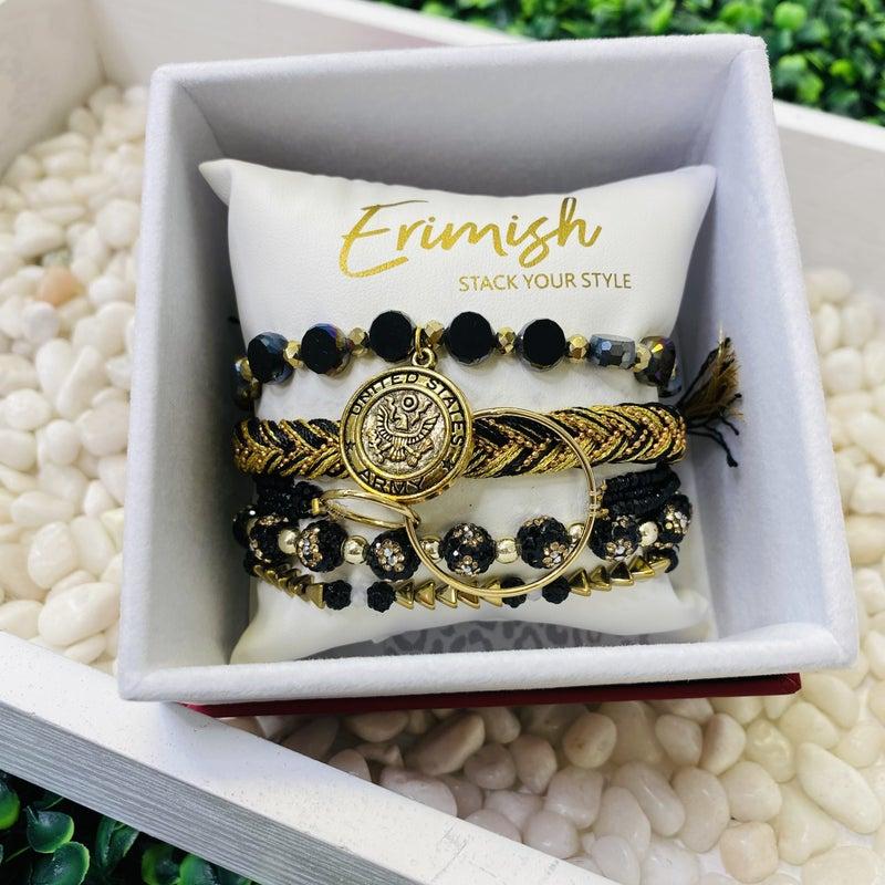 Erimish Army Stack Bracelet With Box