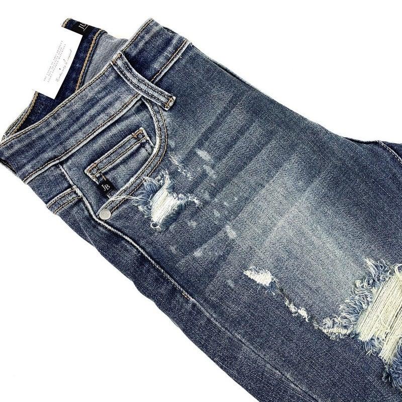 RESTOCK! Best Selling Plus/Reg Judy Blue Original Bleached Boyfriend Jeans