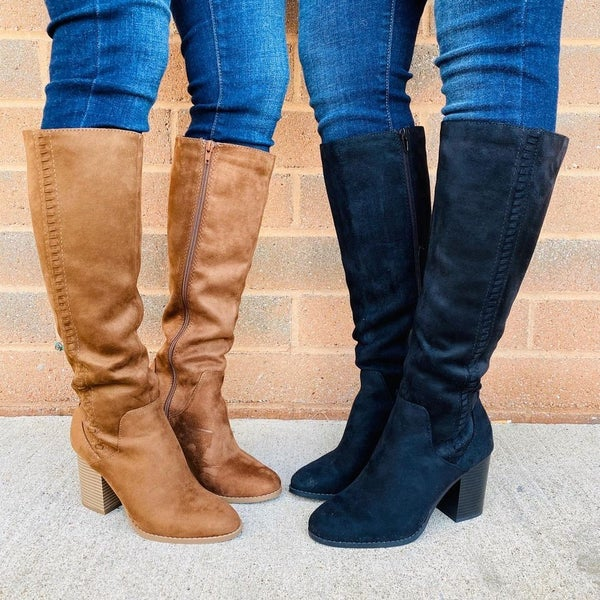 You Kneed These Boots- 2 Colors!