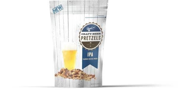 Gourmet Beer Flavored Pretzel Pieces -- 2 Flavors