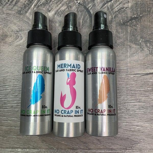 Organic Car and Fabric Sprays