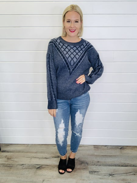 On Trend Sweater- 2 Colors!