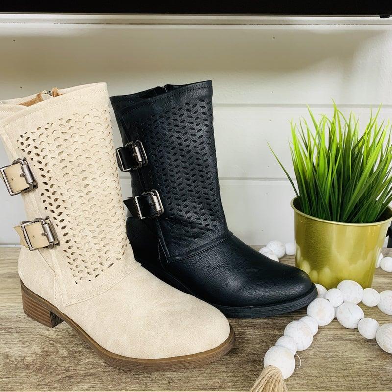 Blowfish Lean On Me Boots- 2 Colors!