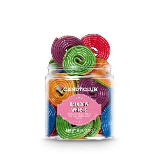 Gourmet Candy Licorice Rainbow Wheels