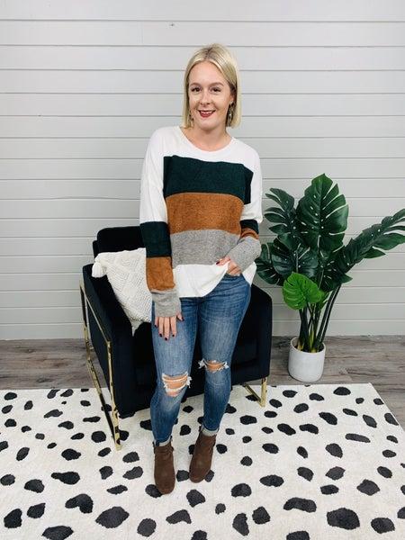 PLUS/REG Fall Breeze Sweater