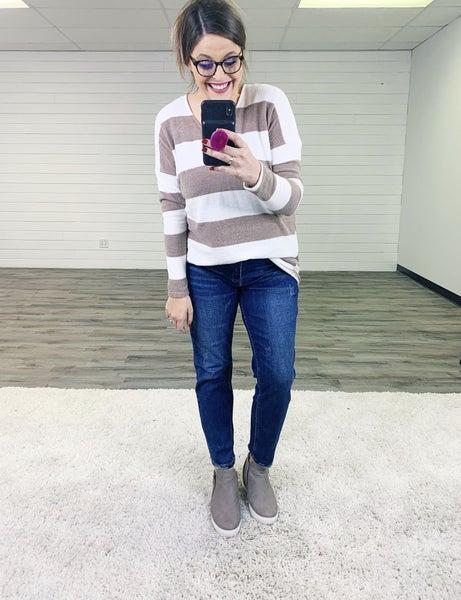 PLUS/REG Judy Blue Slim Not Shady Nondistressed Dark Wash Jeans