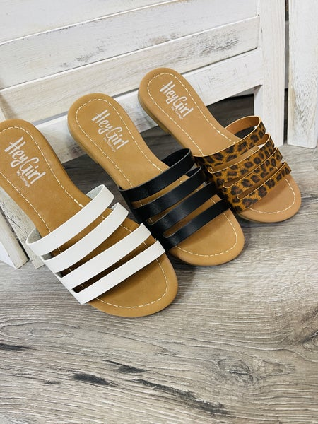 Hey Girl by Corkys Neutral Everyday Slides - 3 Colors!