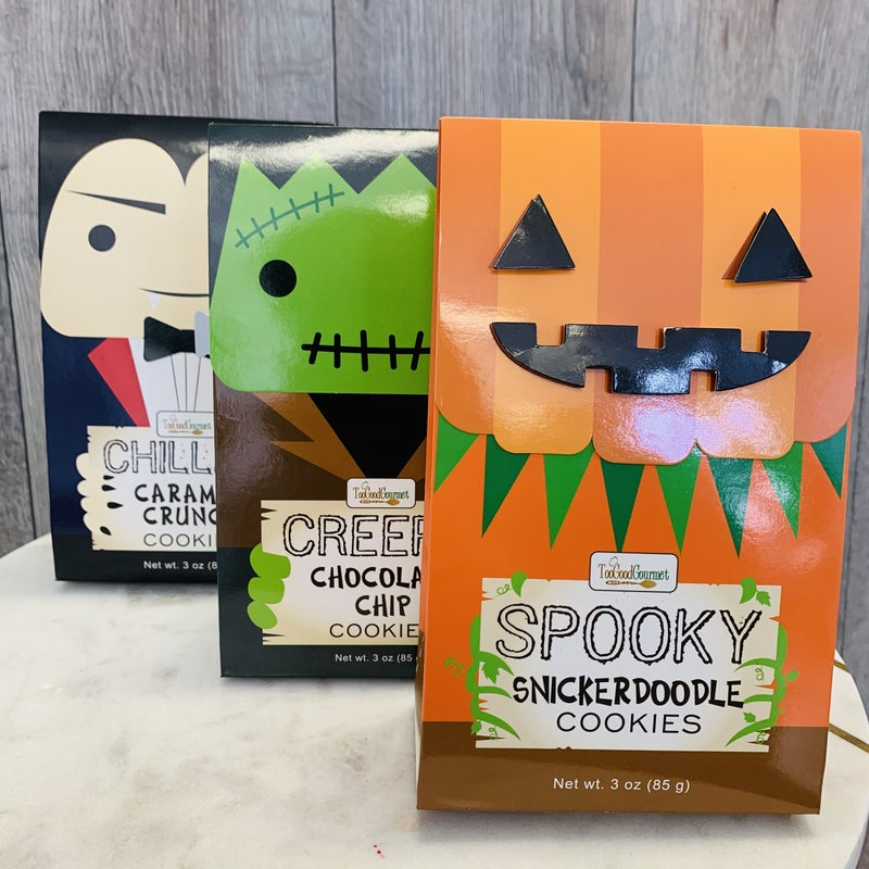 Trick Or Treat Cookies- 3 Flavors!