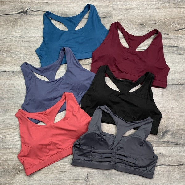 RESTOCK! DOORBUSTER Plus/Reg Buttery Soft Sports Bra with Rib Cage Back- 8 Colors!