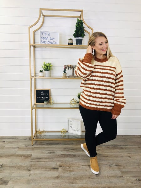 I Adore You Sweater- 2 Colors!