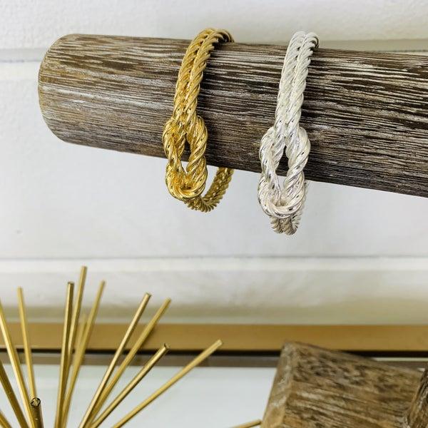 Erimish Knot Bracelet- 2 Colors!