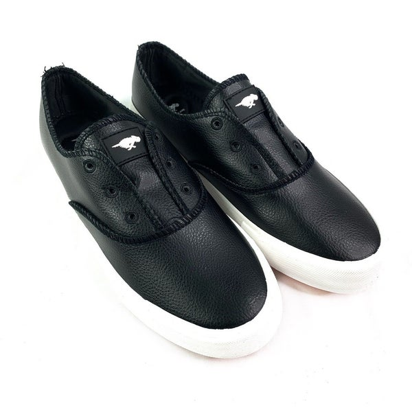 RocketDog Faux Leather Insanely Comfortable Slip On Sneaker