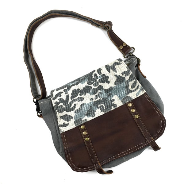 Myra Bag Camo Messenger Bag