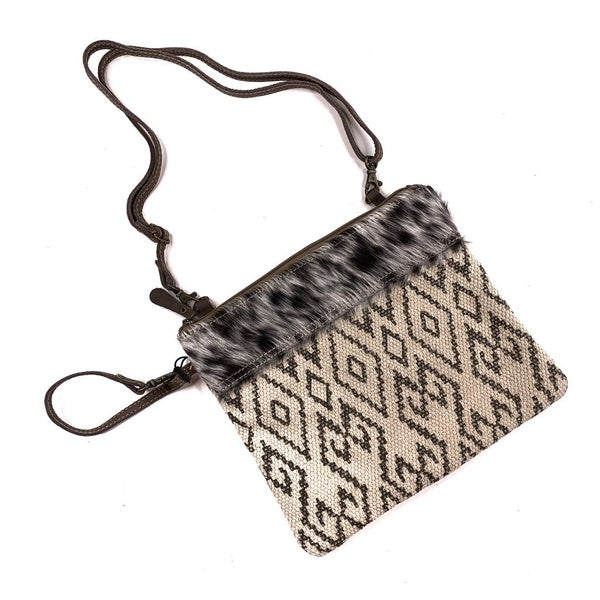 Myra Bag Pare Rug Leather Pouch