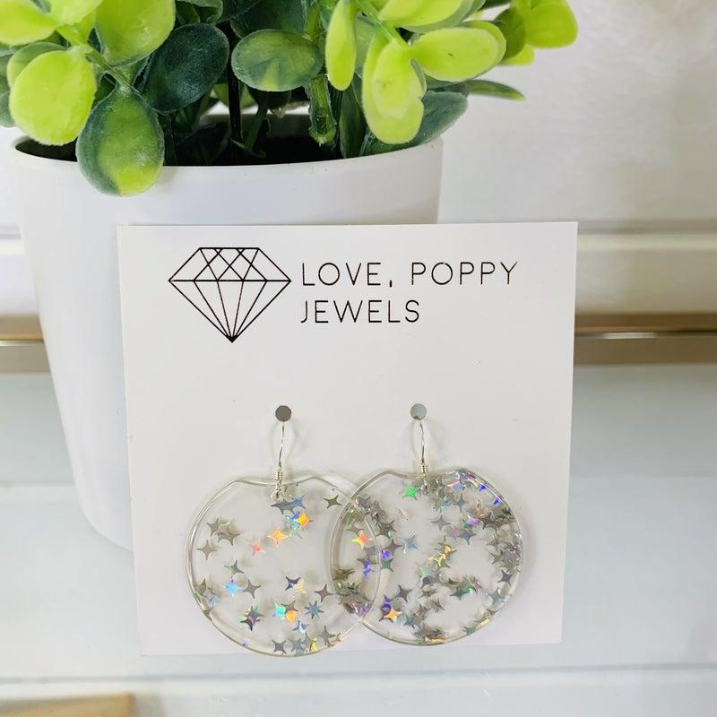 Love Poppy Star Earrings