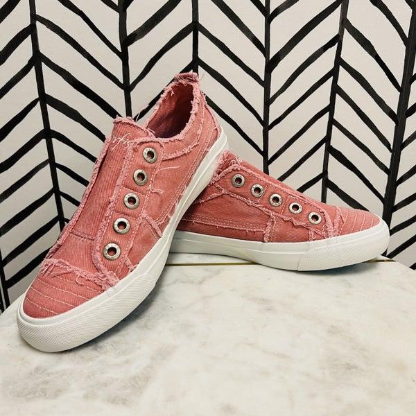 Blowfish Peaceful Pink Sneakers