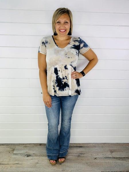 Plus/Reg Judy Blue Cute As Flare Jeans