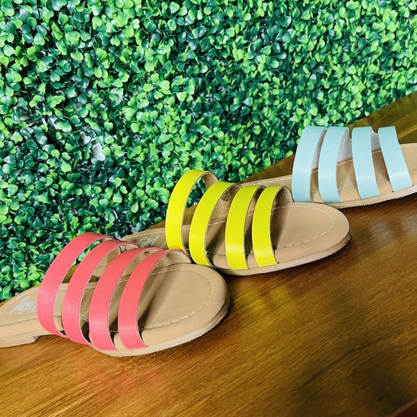 Hey Girl by Corkys Spring Everyday Slides - 3 Colors!