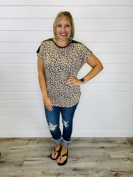 Lucky Leopard Print Top