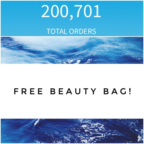 FREE BEAUTY BAG WITH $75!