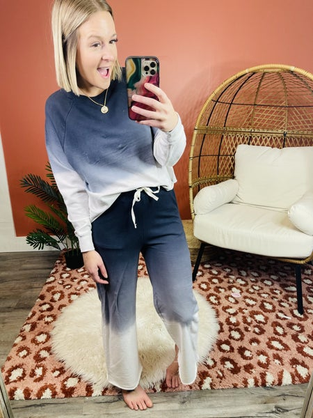 DOORBUSTER Plus/Reg Dipped In Comfort Lounge Crewneck Sweatshirt - 3 Colors!